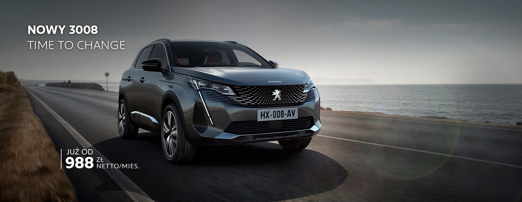 NOWY SUV PEUGEOT 3008