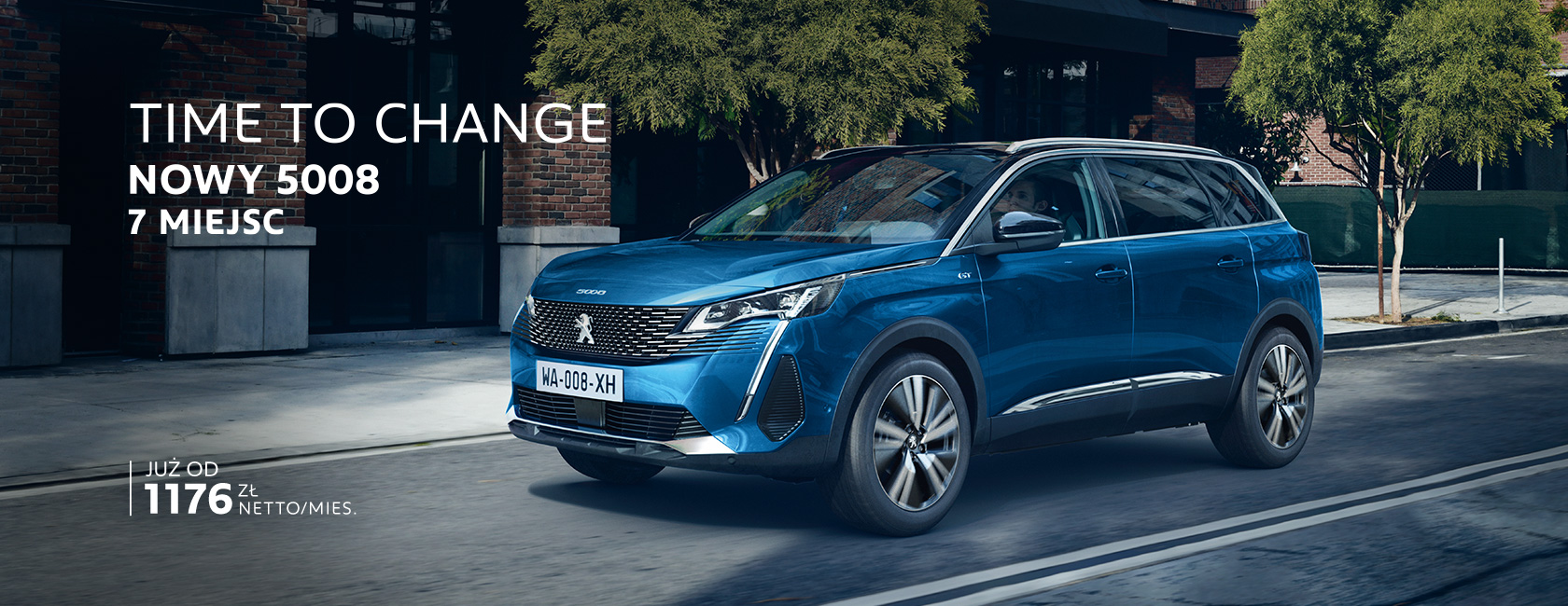 Nowy SUV Peugeot 5008